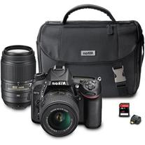Nikon D7100 DX-Format Digital SLR Camera Bundle with 18-55mm
