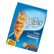 9lives Daily Essentials 28-pound Dry Cat Food, Flavors