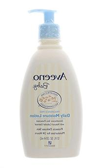 Aveeno Baby Daily Moisture Lotion, Fragrance Free 12 fl oz