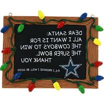 Dallas Cowboys Official NFL 3 inch x 4 inch Chalkboard Sign
