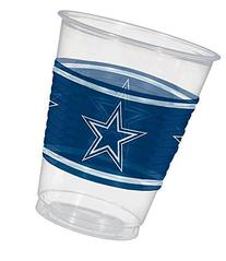 Amscan Dallas Cowboys Plastic Cup, 16 oz