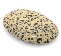 Dalmatian Jasper Palm Stone