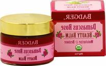 Badger Damascus Rose Beauty Balm - Certified Organic 28 g/