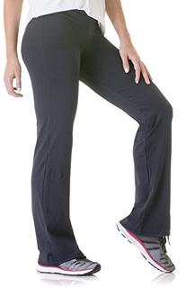 Lupo Women's Dance Yoga Stretch Pants, X-Large, Black