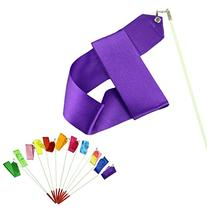Voberry Dancing Ribbon Streamer Gym Rhythmic Rod Art