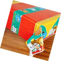 Daniel Tiger Party Supplies - Plastic Table Cover