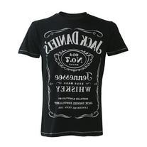 Jack Daniels Unisex-adults Classic Logo T Shirt - X-Large,
