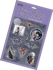 Dark Fairy and Tribal Butterfly by Nene Thomas - Die Cut
