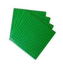 "Premium Dark Green 7.5"" X 7.5"" Large Size Pegs Construction"