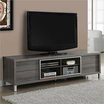 Monarch Specialties I 2536, TV Console, Euro Style, Dark
