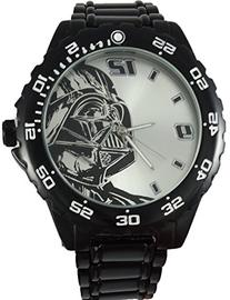 Star Wars Darth Vader Watch with Black Metal Bracelet