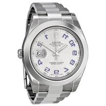 Rolex Datejust II Rhodium Dial Stainless Steel Automatic