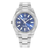 NEW Rolex Datejust II Stainless Steel and 18K White Gold