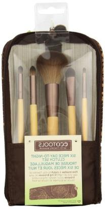 EcoTools 6 Piece Day To Night Clutch Set, Includes: Pointed