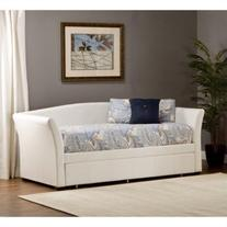 Daybed with Trundle in White