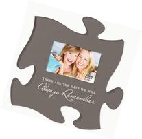 These Are The Days Puzzle Piece Hanging Picture Frame Holds