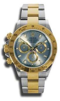 Rolex Daytona Grey Chronograph Steel And Yellow Gold Mens