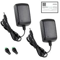 New DC 12V 2A 2.0A Switching Power Supply Adapter For 110V-