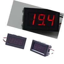 DC 0-30V LED 3-Digital Display Voltage Voltmeter Panel