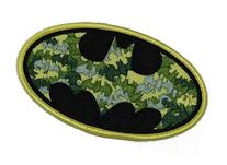 Batman DC Comics Camo Bat Logo Patch