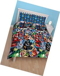 DC Comics Justice League Invincible Double Duvet Cover Set