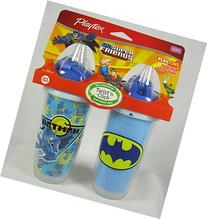 Playtex DC Super Friends Playtime Insulated Straw Cups No