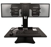Victor DC350 High Rise Collection Dual Monitor Sit-Stand