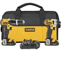 DEWALT DCK285C2 20-Volt MAX Li-Ion Compact 1.5 Ah Hammer