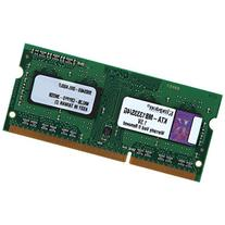 Kingston Technology 4GB 1333MHz DDR3 Single Rank SODIMM