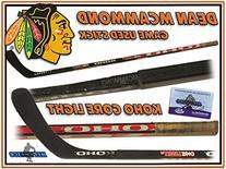 DEAN MCAMMOND Game Used Stick CHICAGO BLACKHAWKS KOHO w/COA