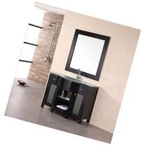 "Design Element DEC010 Rome 43"" Free Standing Vanity Set with"