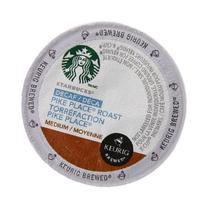 Starbucks Decaf Pike Place Roast, K-Cup for Keurig Brewers,