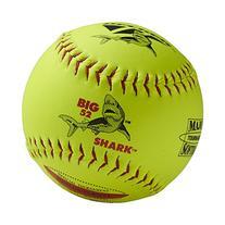 "Decker Red Big Shark 12"" SuperGrip Softball ASA 52/300 QTY 6"