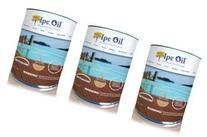 DeckWise Ipe Oil Hardwood Deck Finish, UV Resistant, 3 Cans