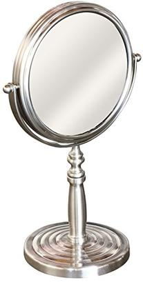 DecoBros 6-Inch Tabletop Two-Sided Swivel Vanity Mirror with