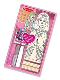 Melissa & Doug Decorate-Your-Own Wooden Princess Doll Craft