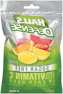 HALLS Defense Sugar Free Vitamin C Supplement Drops