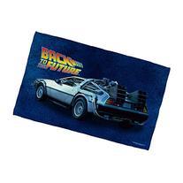 Delorean -- Back To The Future -- Beach Towel