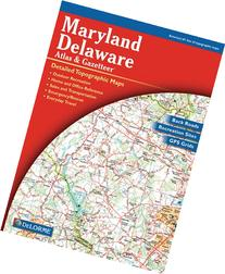 Maryland/Delaware Atlas & Gazetteer