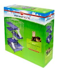 "Kaytee Ferret Deluxe 24"" X 24"" x 44"" Multi-Level Home"