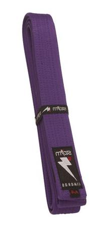 Storm Kimonos Deluxe Belt, Purple, Adult 2