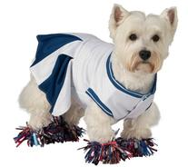 Rubie's Deluxe Cheerleader Pet Costume, Medium