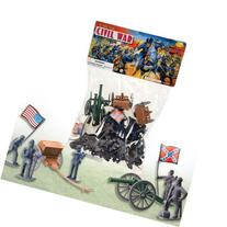 50 PC DELUXE CIVIL WAR TOY SOLDIERS PLAY SET - THE UNION v.