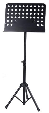 Deluxe Collapsible Orchestra Music Stand - Black