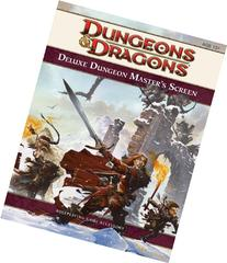 Deluxe Dungeon Master's Screen: A 4th Edition D&D Accessory
