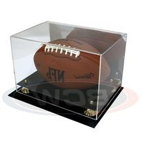 2 Ct BCW Deluxe Football Display Cases