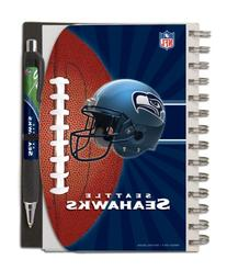 Seattle Seahawks Deluxe Hardcover, 5 x 7 Inches Notebook and