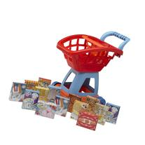 American Plastic Toys 15-Piece Deluxe Shopping Cart with