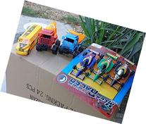 Deluxe Trucks Collection 6 Toys Lot Vehicle Playset 6 Big