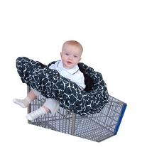 Floppy Seat Deluxe Velboa Shopping Cart and High Chair Cover